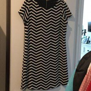 Ivanka Trump Chevron Dress